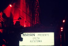 Still Life: Opeth, Katatonia @ Mayan Theater, 10/19/11