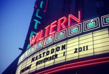 The Hunter: Mastodon, The Dillinger Escape Plan, Red Fang @ The Wiltern, 11/1/11