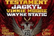 Souls of Black: NAMM Jam- Testament, Jackyl @ The Grove Anaheim, 1/20/12