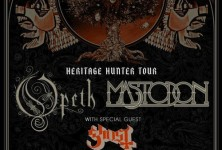 I Feel the Dark: Opeth, Mastodon, and Ghost @ Backstage Live San Antonio, 4/20/12