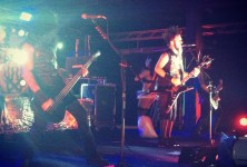 Cold: Static-X, Davey Suicide, 9 Electric @ Backstage Live, 7/21/12