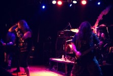 Deadly Sinners: 3 Inches of Blood, Huntress, The Hookers @ Whisky-A-Go-Go, 12/11/12