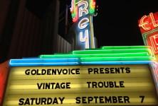 Blues Hand Me Down: Vintage Trouble @ El Rey, 9/7/13
