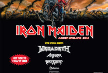 The Number of the Beast: The Battle of San Bernardino with Iron Maiden, Megadeth, Anthrax, and Testament @ San Manuel Amphitheater, 9/13/13