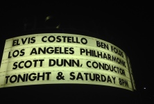 Bedlam: Elvis Costello & The LA Philharmonic @ Hollywood Bowl, 9/5/14
