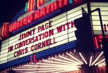 Zoso: Jimmy Page in Conversation with Chris Cornell @ Theater at the Ace Hotel, 11/12/14